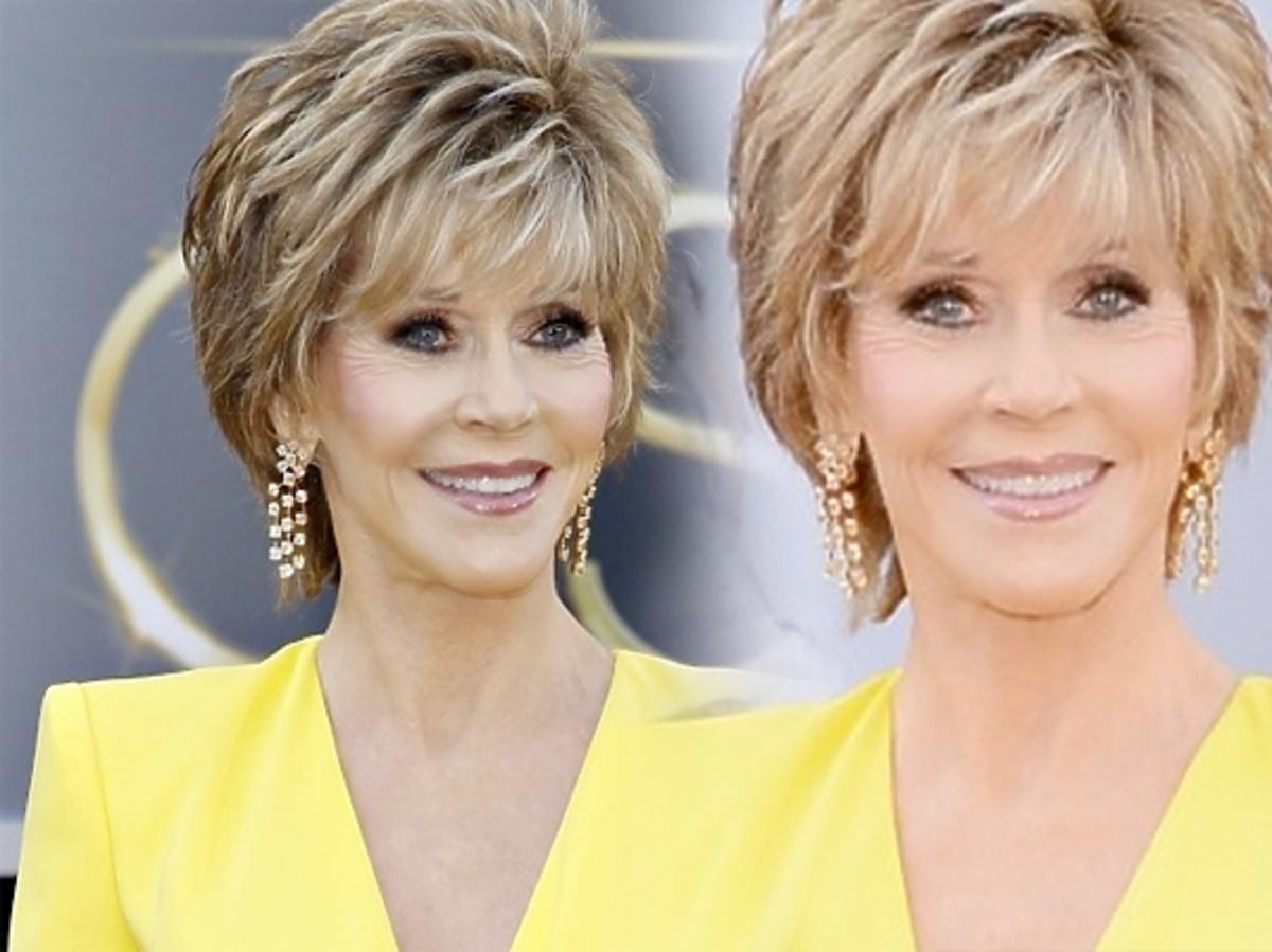 Jane Fonda na rozdaniu Oscarów