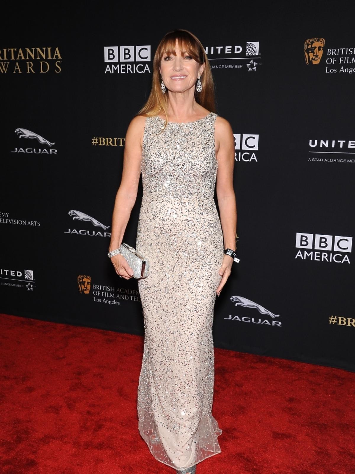 Jane Seymour na rozdaniu nagród BAFTA