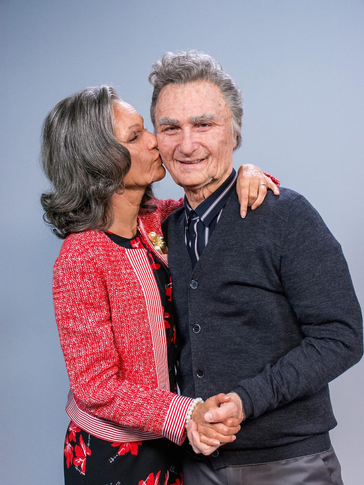 Janek 94 lat i Lenka 79 lata