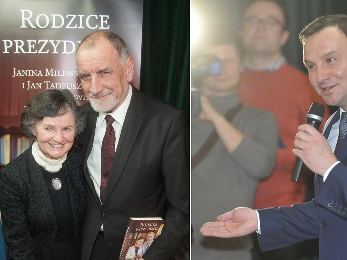 Janina Milewska-Duda, Jan Duda, Andrzej Duda