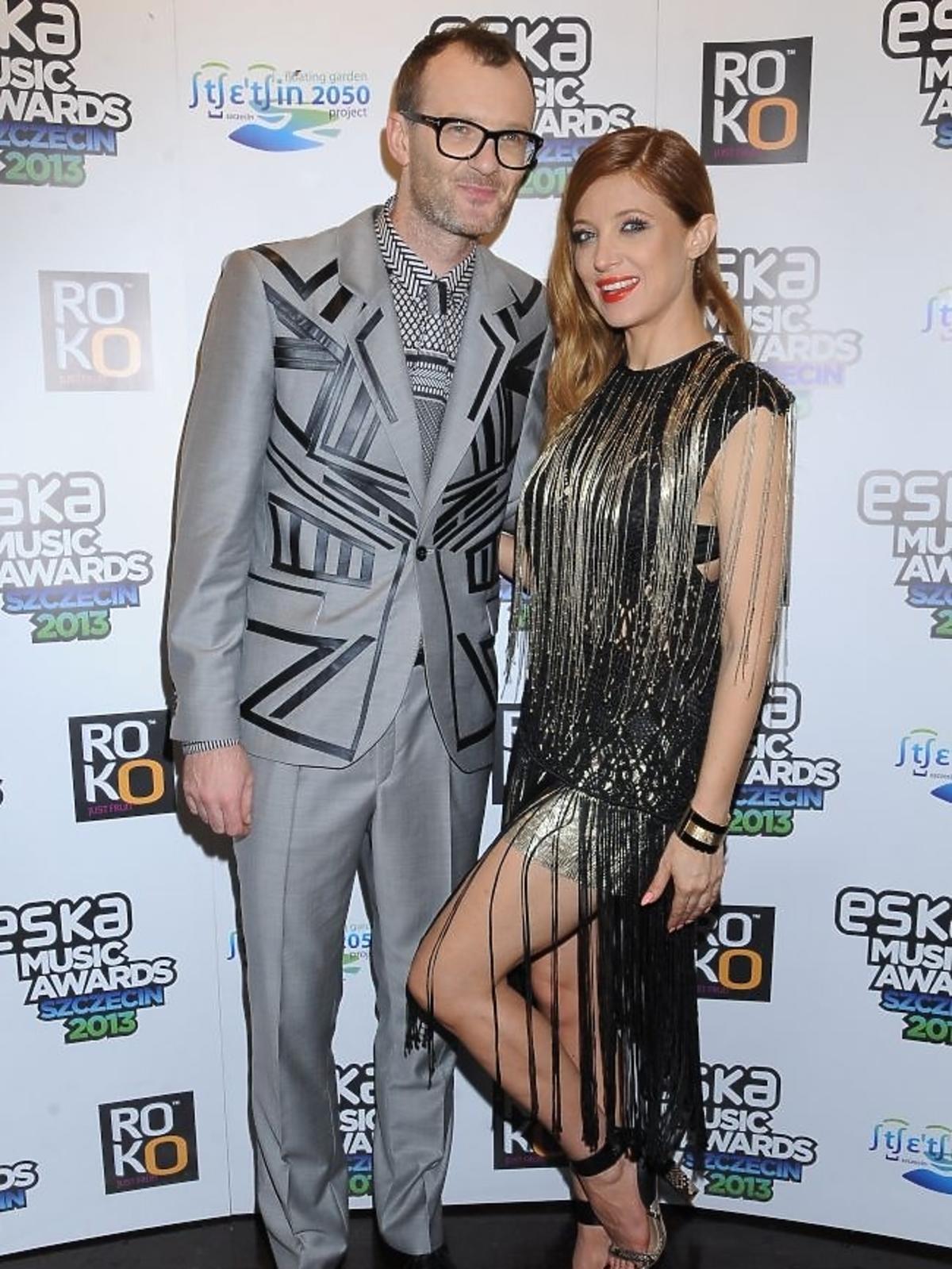 Jankes i Ada Fijał na gali Eska Music Awards 2013