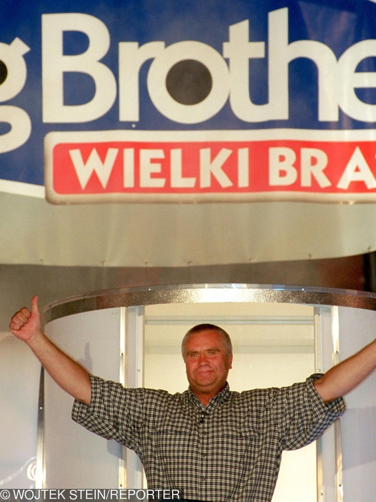 Janusz Dzięcioł Big Brother kiedyś