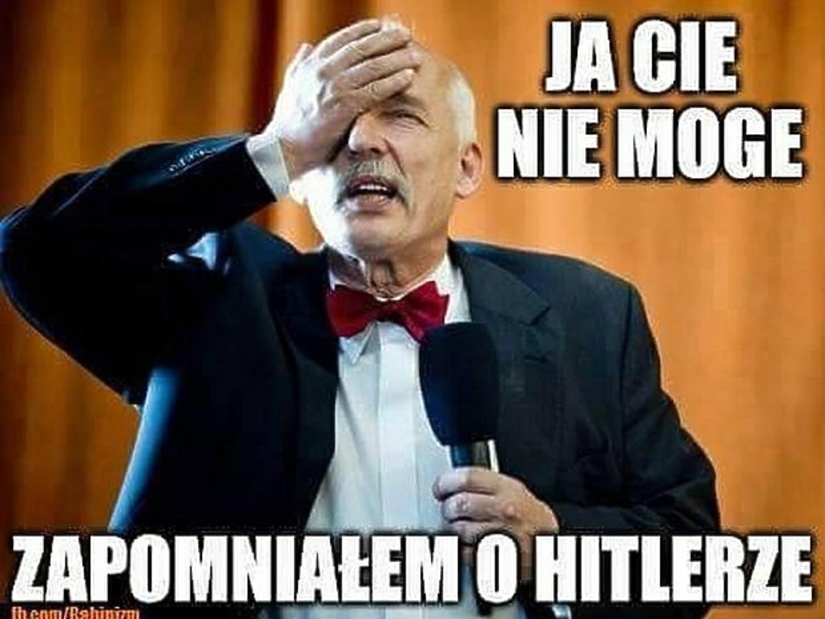 Janusz Korwin-Mikke bohaterem memów