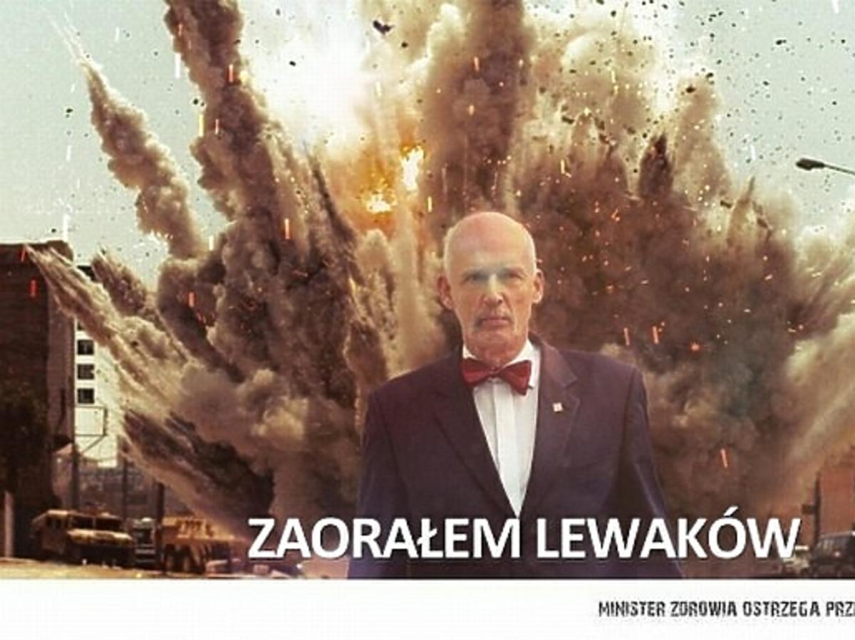 Janusz Korwin-Mikke na memach po debacie wyborczej