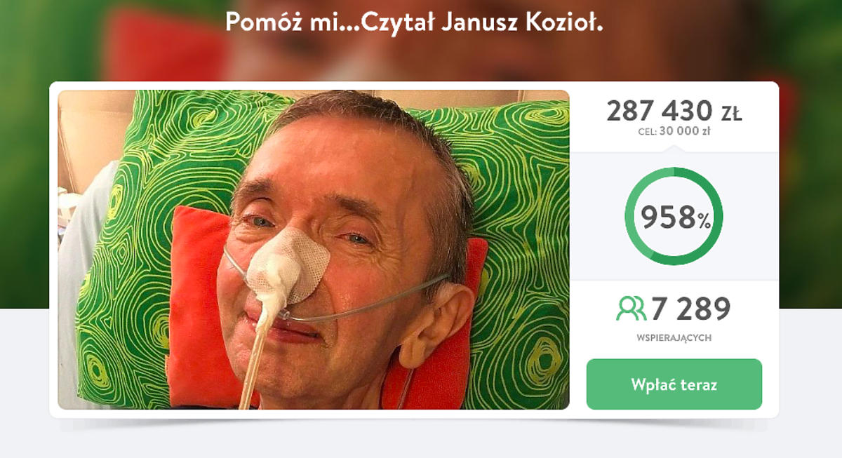 Janusz Kozioł nie żyje