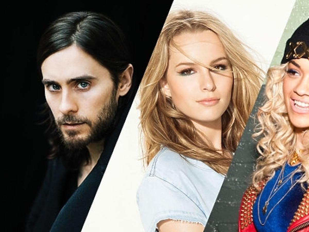 Jared Leto, Rita Ora, & Bridgit Mendler prezentują na gali!