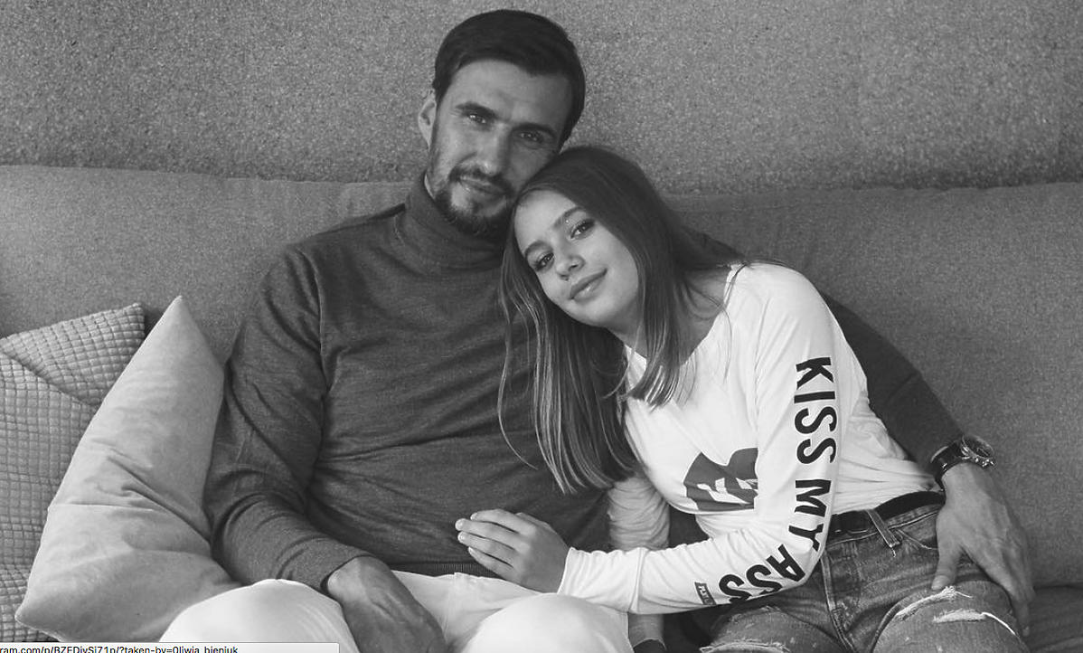 Jarek Bieniuk i Oliwia Bieniuk