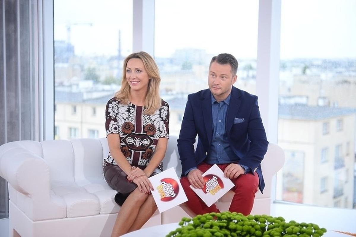 Jarosław Kuźniak i Anna Kalczyńska w Dzień dobry TVN