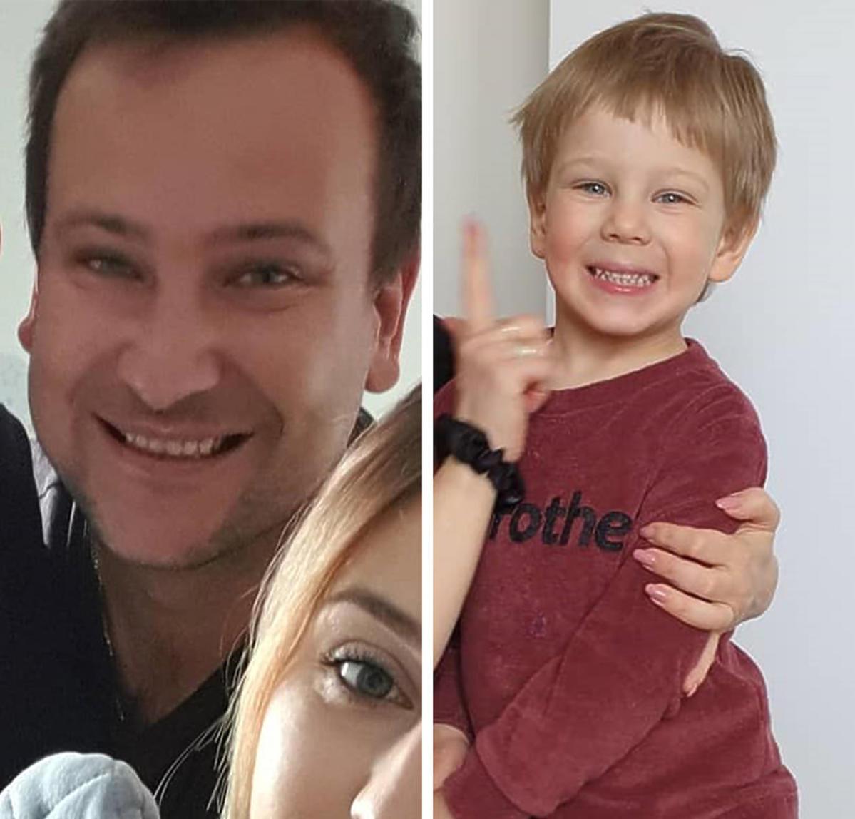 Jaś Bardowski jest podobny do taty, Grzegorza Bardowskiego z