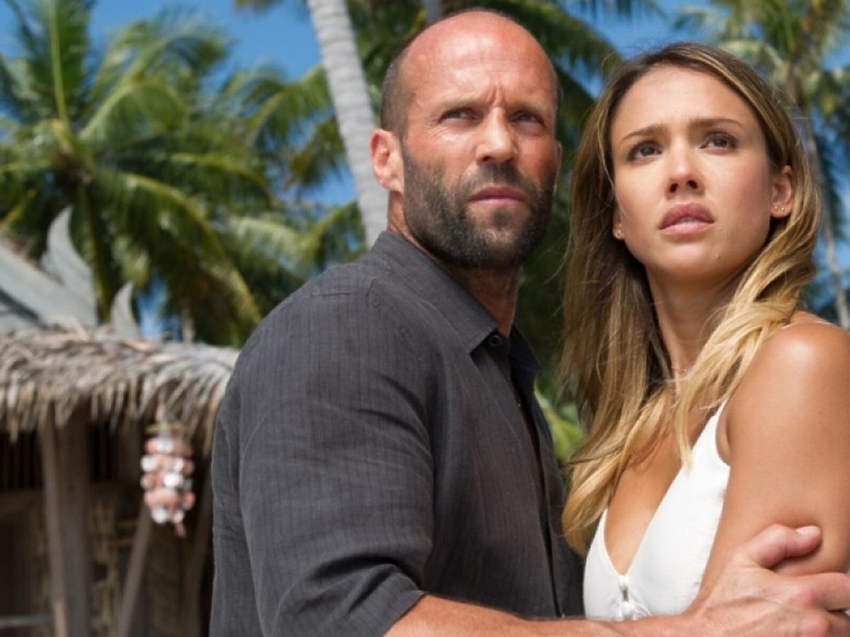 Jason Statham i Jessica Alba w filmie Mechanik: Konfrontacja