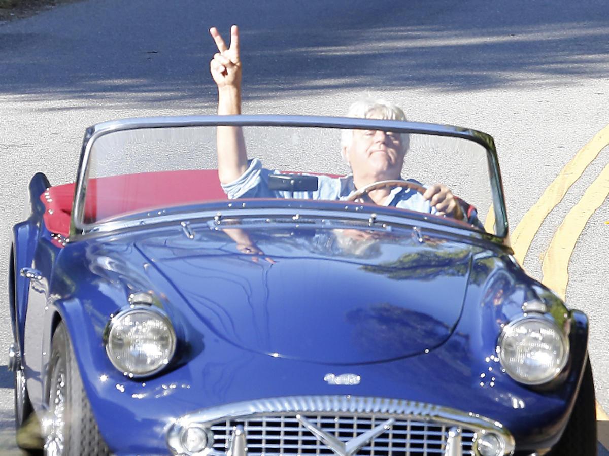 Jay Leno znany jest z zamiłowania do zabytkowych i drogich aut