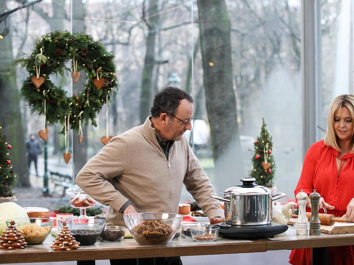 Jean Reno w kuchni Ewy Wachowicz