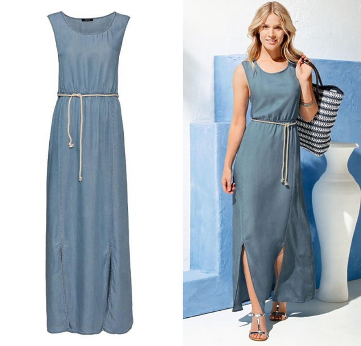 Jeansowa sukienka z Lidla