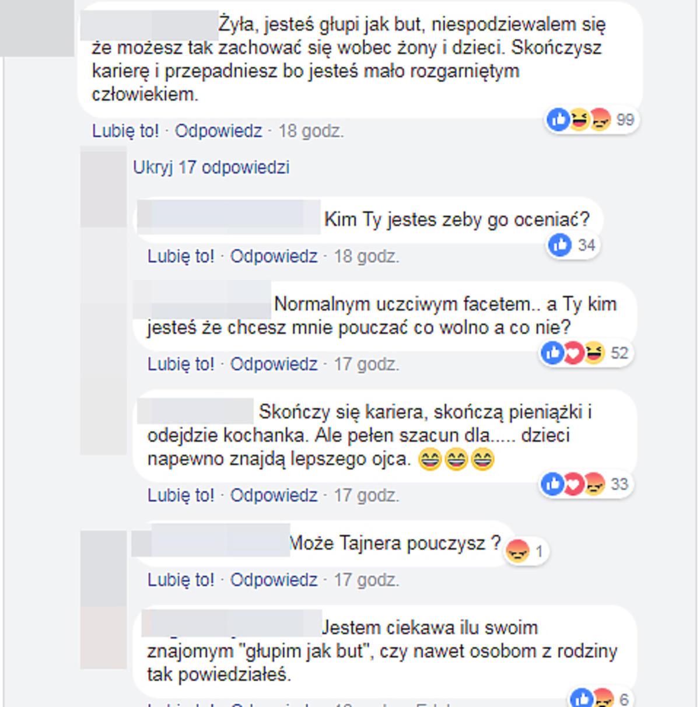 Jedni bronią, inni krytykują Piotra Żyłę