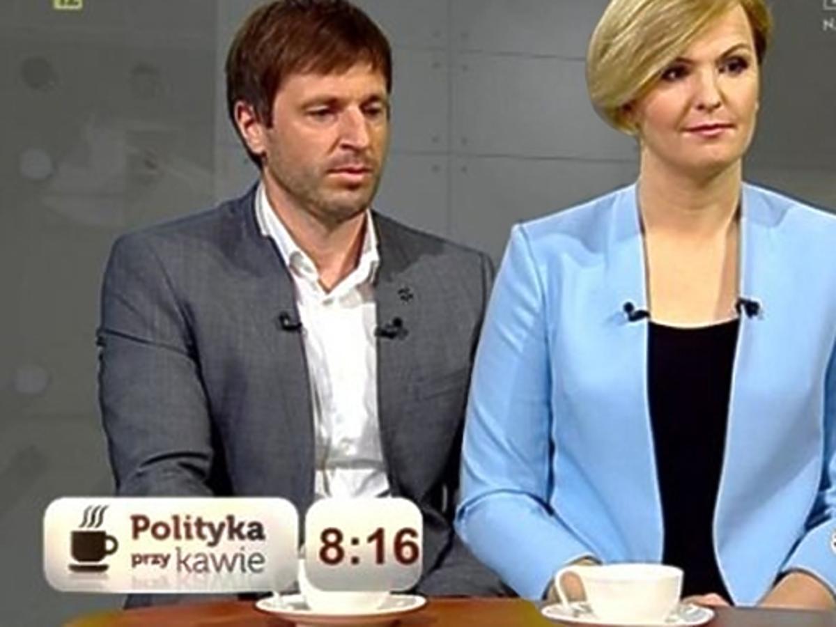 Jędrzejczak i Żurawski w Polityka przy kawie