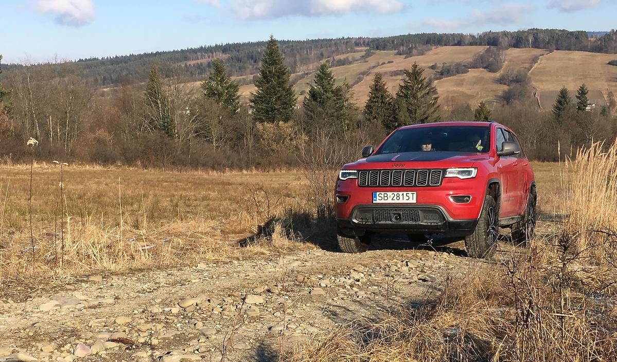 Jeep Grand Cherokee Trailhawk - test dziennikarski