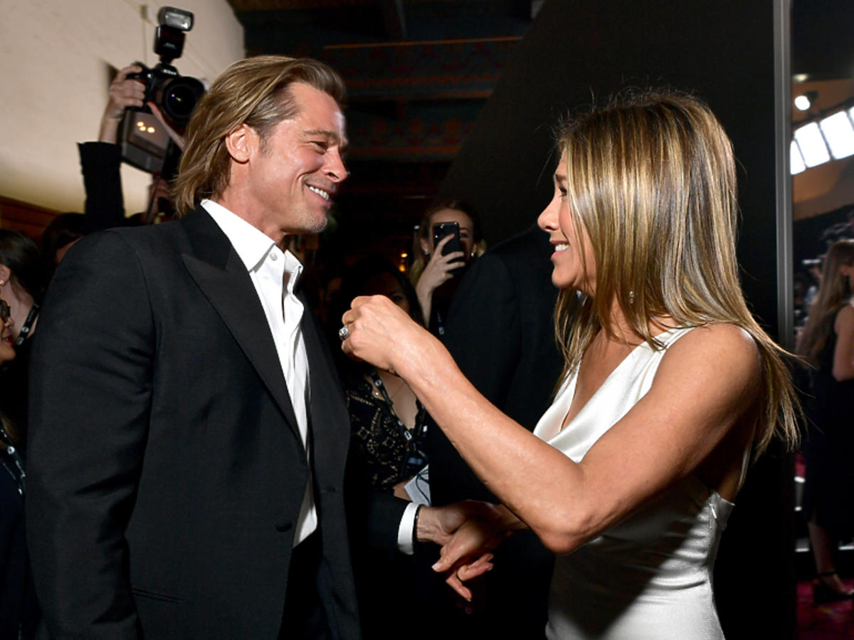 Jennifer Aniston i Brad Pitt na gali