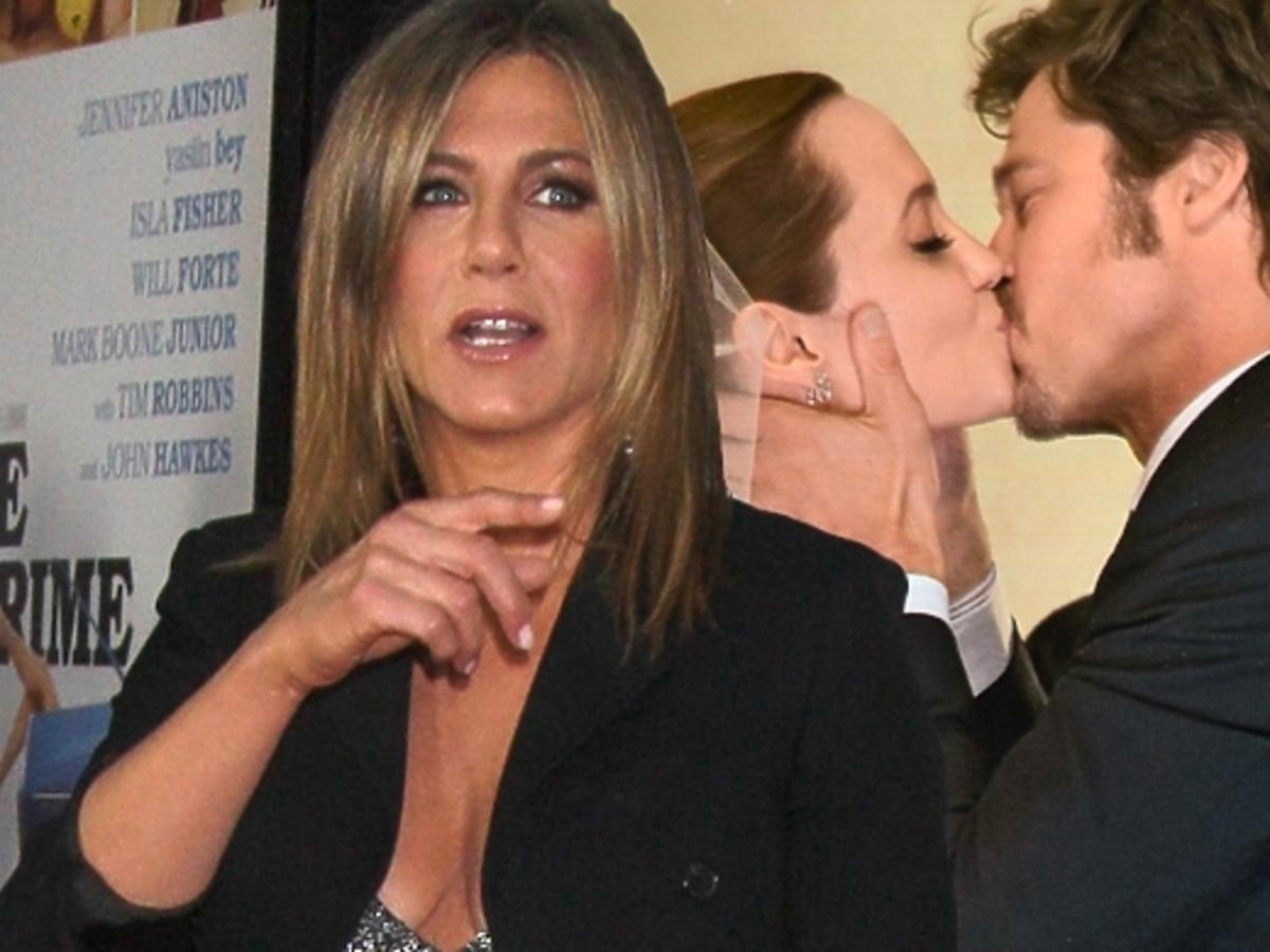 Jennifer Aniston o ślubie Angeliny Jolie i Brada Pitta