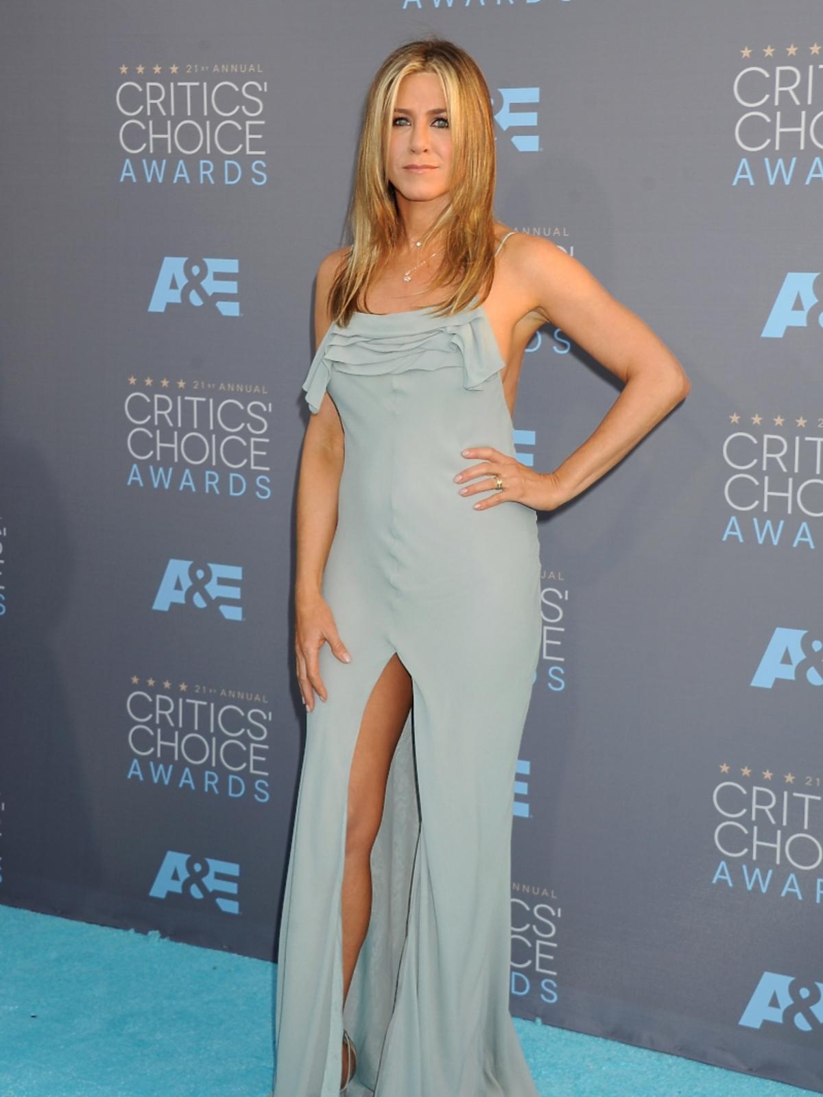 Jennifer Aniston na Critics Choice Awards 2016