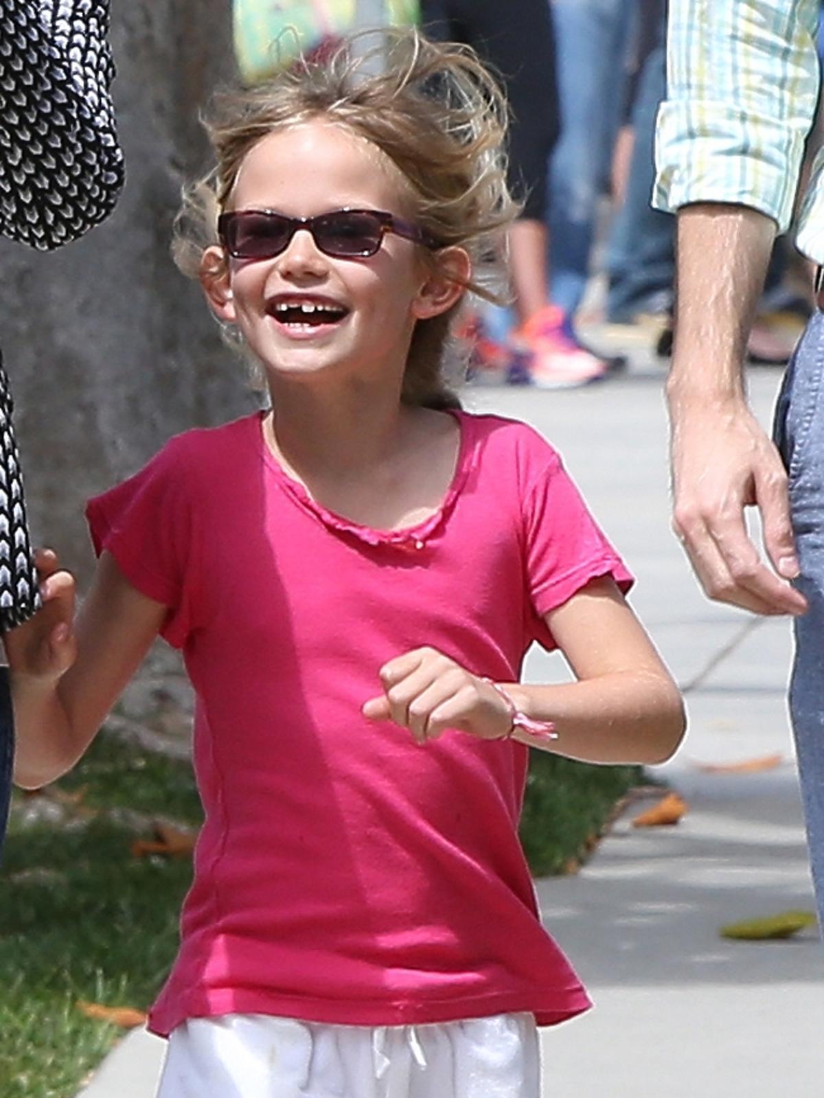 Jennifer Garner z córką robi zdjęcia paparazzim