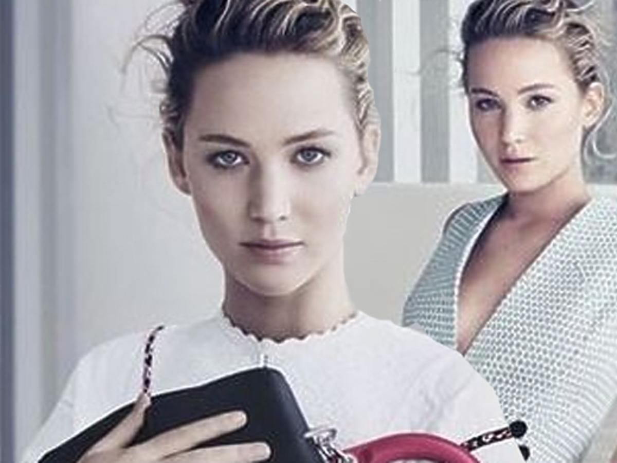 Jennifer Lawrence dla Diora