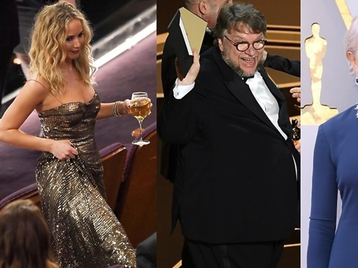 Jennifer Lawrence, Guillermo del Toro, Helen Mirren