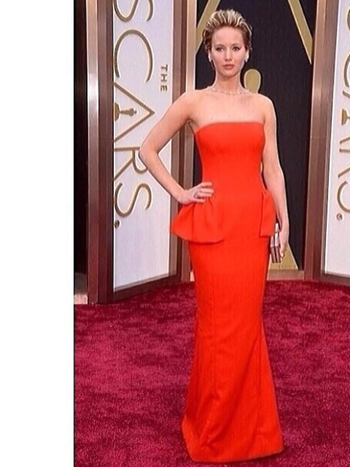 Jennifer Lawrence Oscary 2014