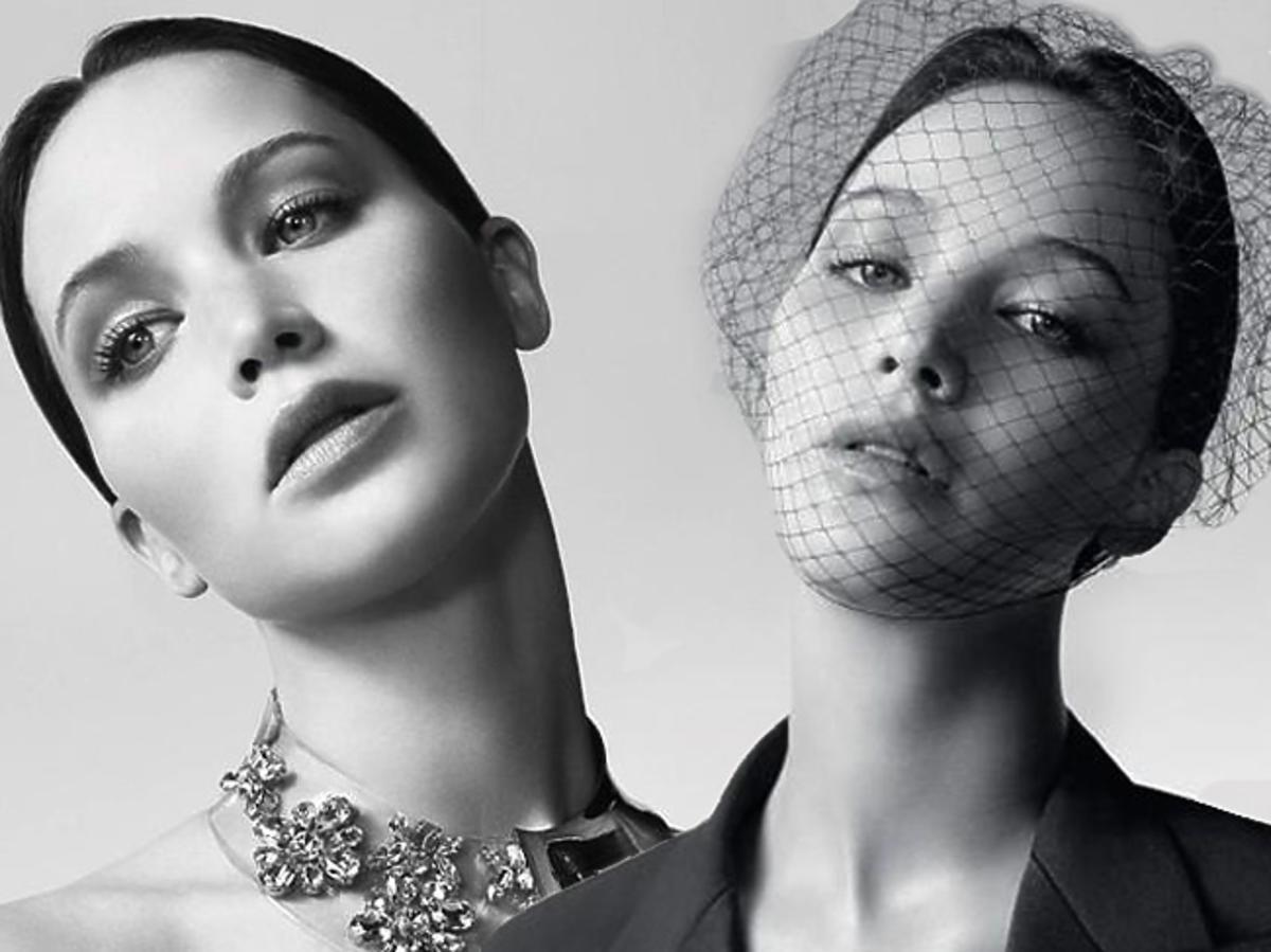 Jennifer Lawrence w kampanii Dior