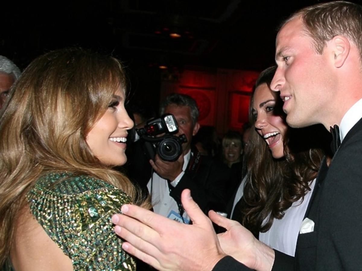 Jennifer Lopez, księżna Kate, książę William