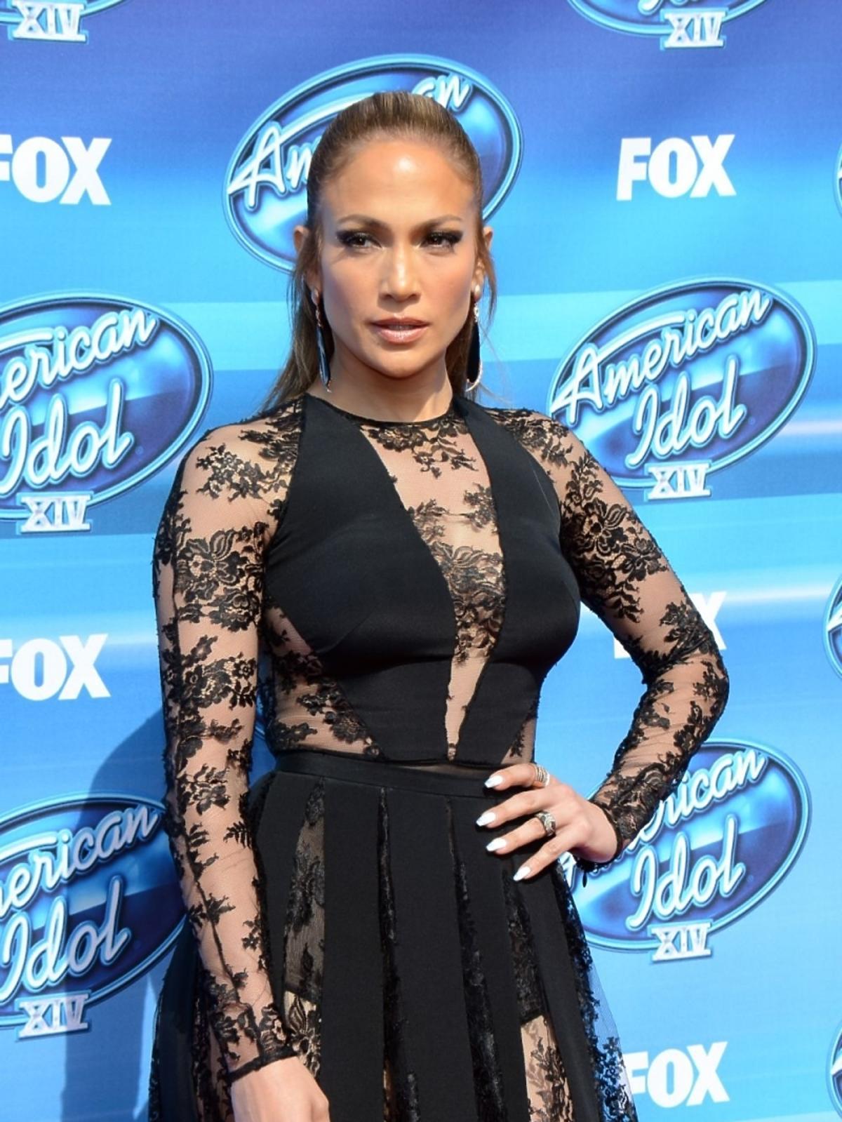 Jennifer Lopez w finale amerykańskiego idola