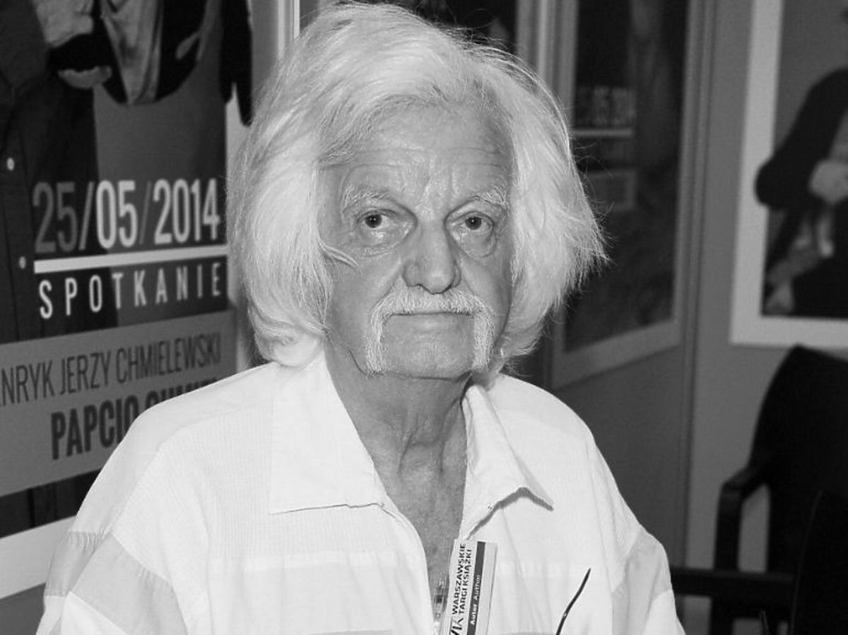 Jerzy Chmielewski- czarno białe zdjęcie