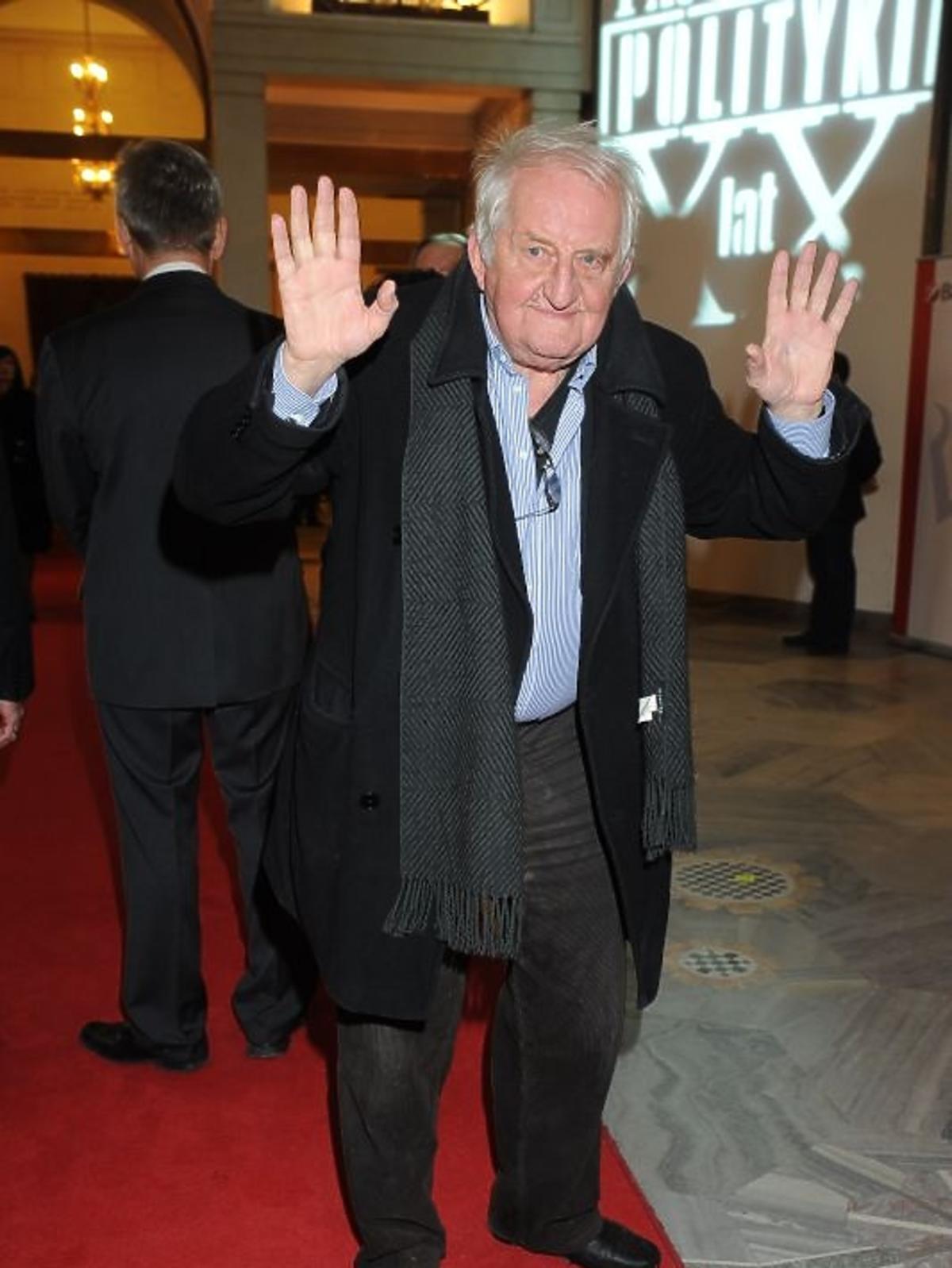 Jerzy Iwaszkiewicz na gali Paszporty Polityki 2012