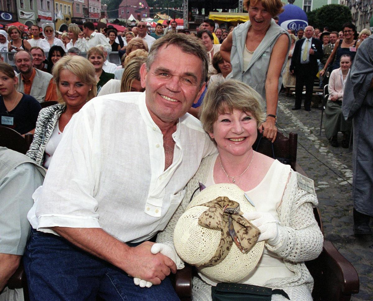 Jerzy Janeczek i Ilona Kuśmierska