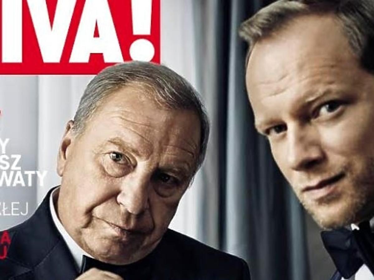 Jerzy Sthur i Maciej Stuhr na okładce Vivy!