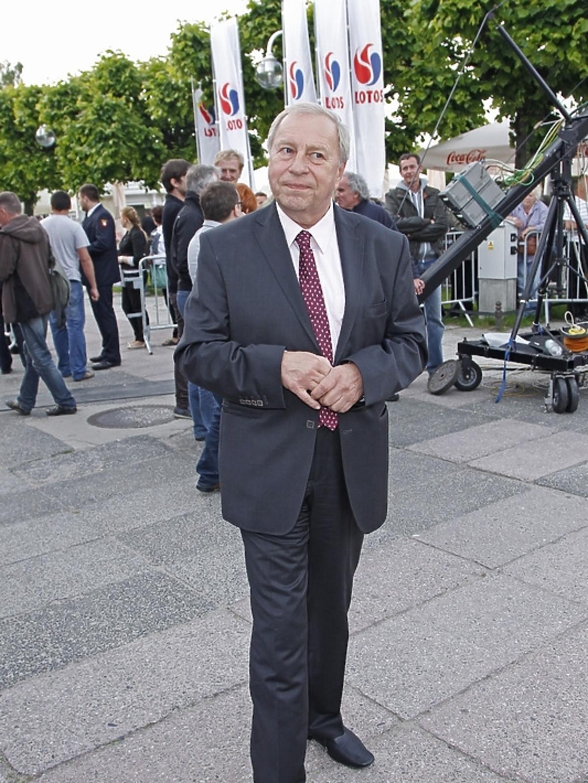 Jerzy Stuhr w Sopocie na festiwalu Dwa Teatry