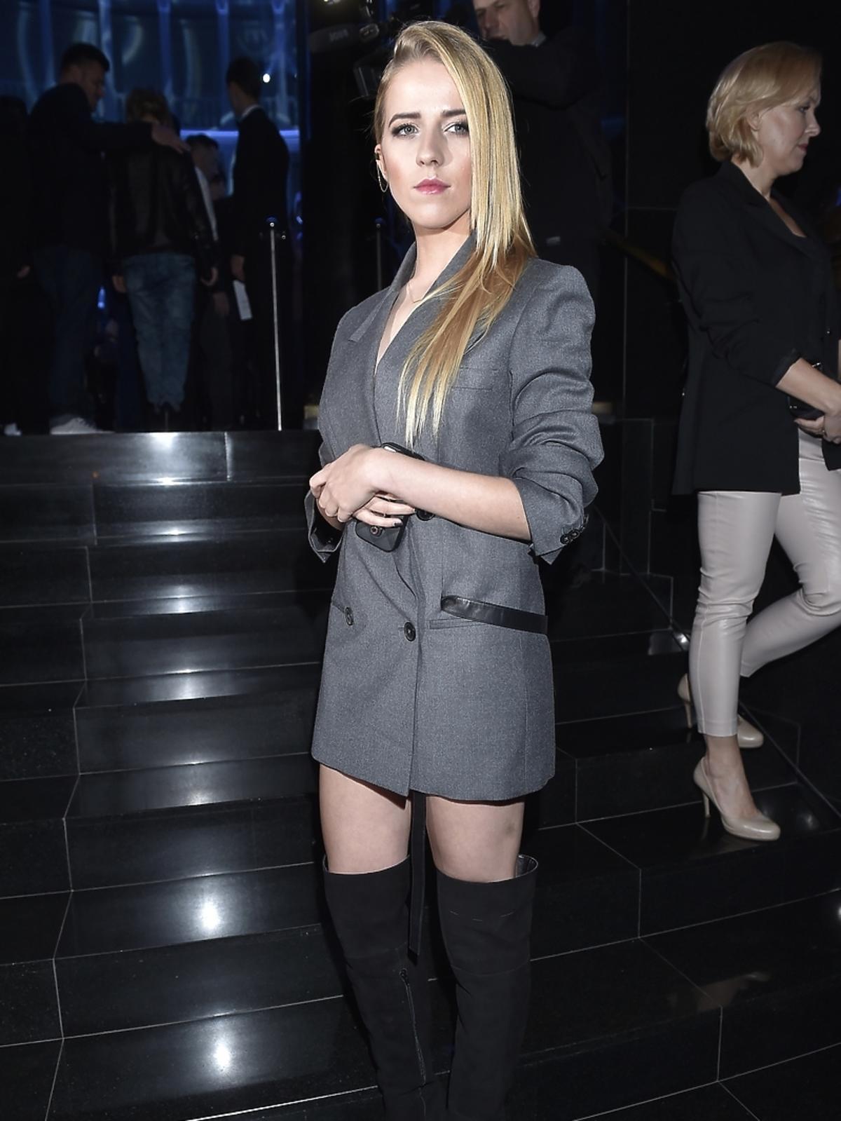 Jesisca Mercedes na premierze kolekcji Anji Rubik