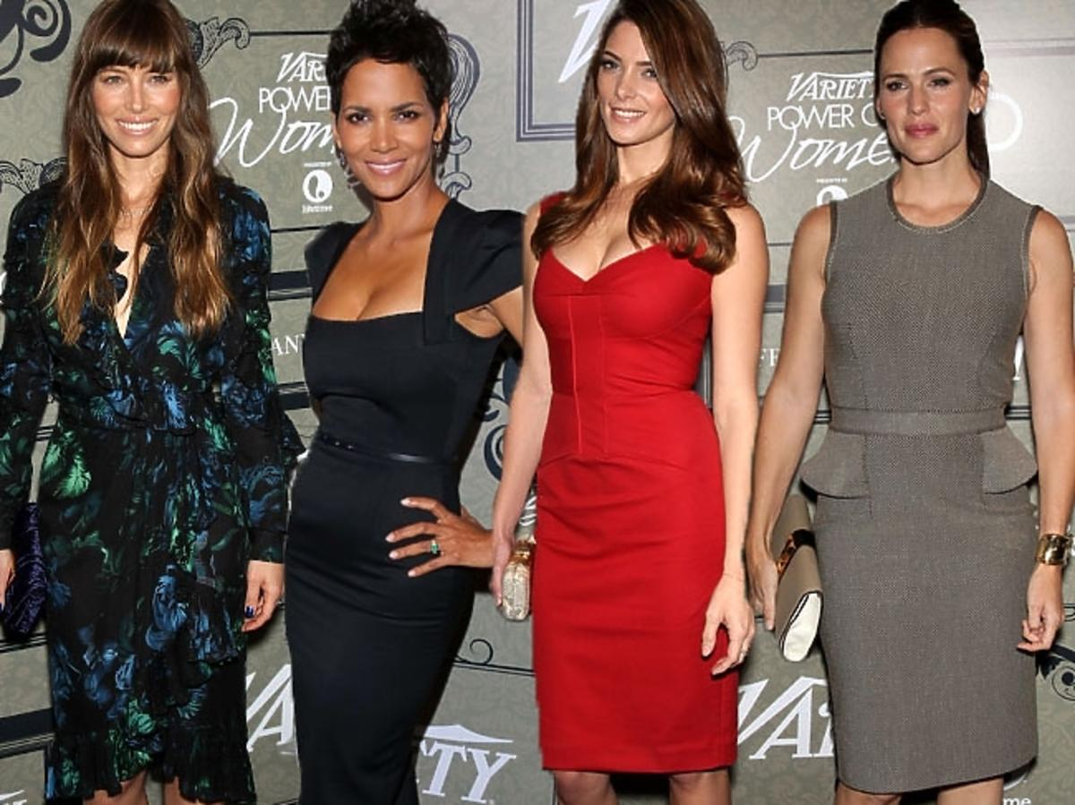 Jessica Biel, Jennifer Garner, Halle Berry, Ashley Greene