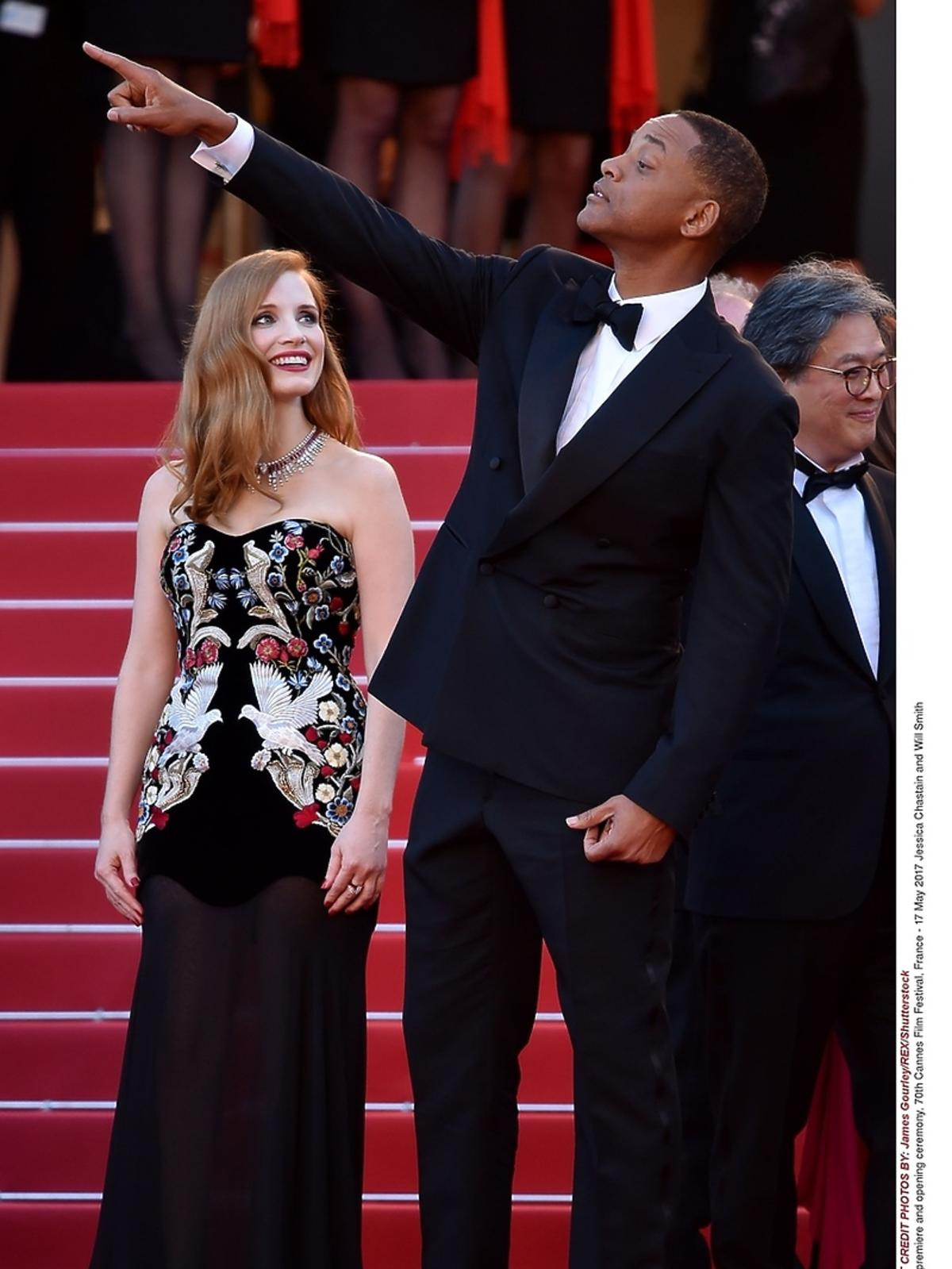 Jessica Chastain w Cannes