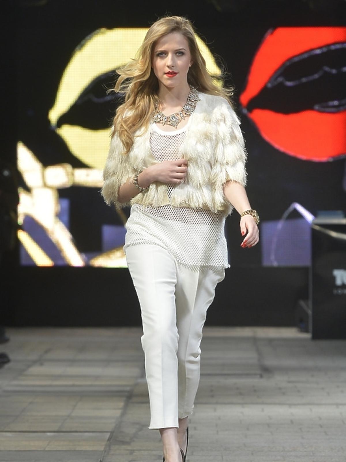 Jessica Mercedes na Warsaw Fashion Weekend