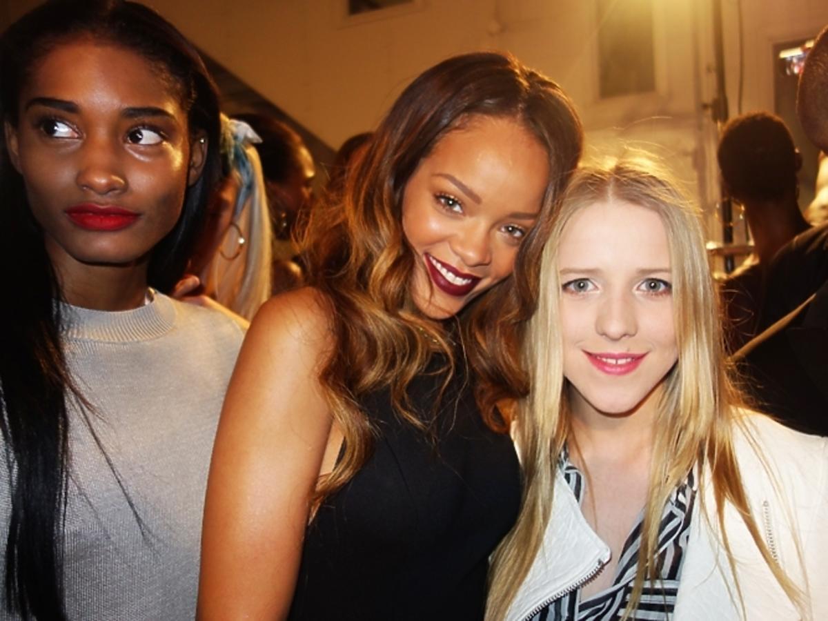 Jessica Mercedes w Londynie na spotkaniu z Rihanną