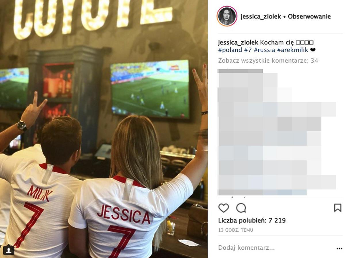 Jessica Ziółek kibicuje