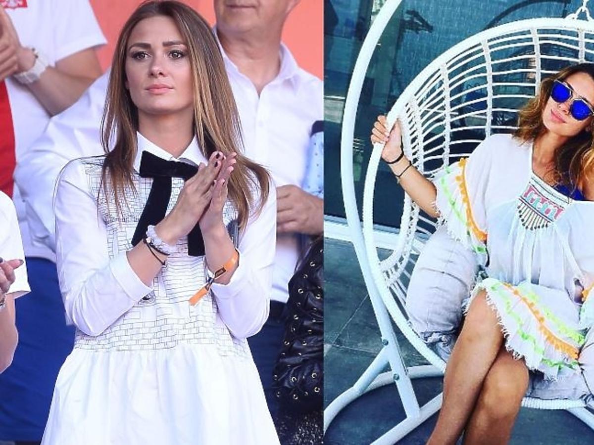 Jessica Ziółek w białej sukience