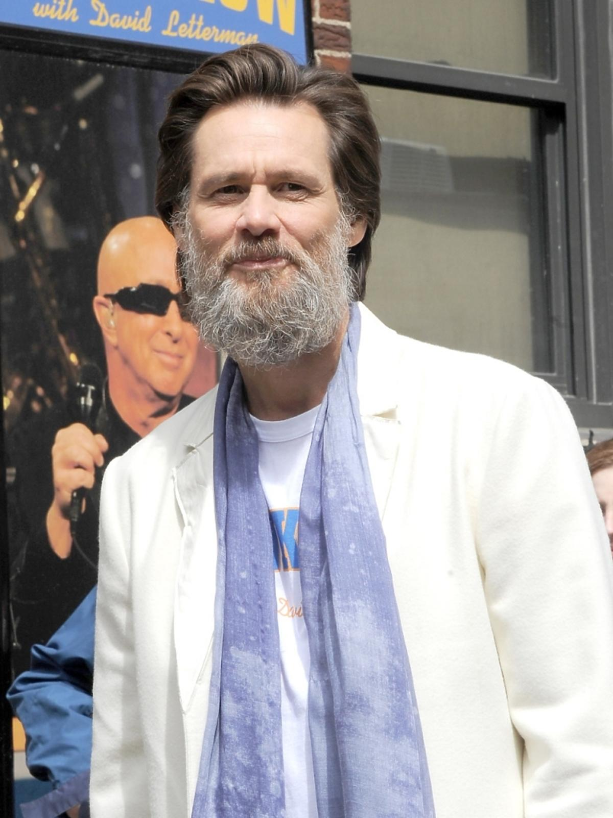 Jim Carrey w Nowym Jorku