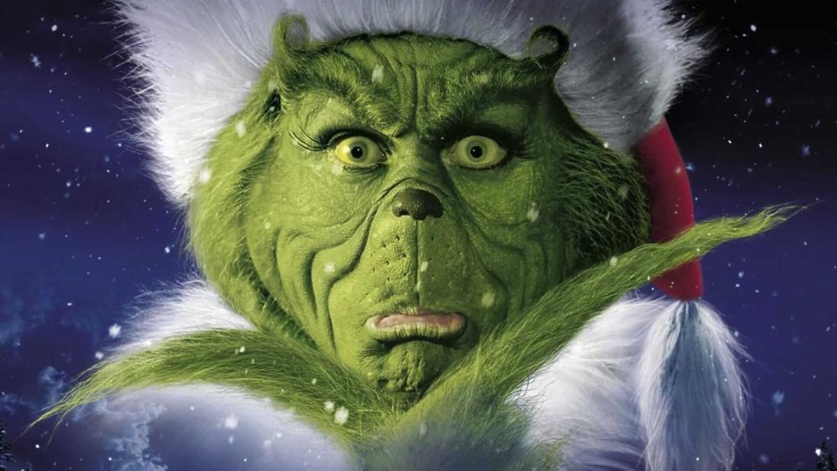 Jimm Carrey jako Grinch