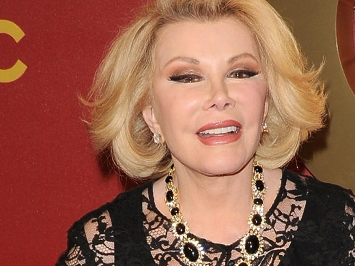 Joan Rivers trafiła do szpitala