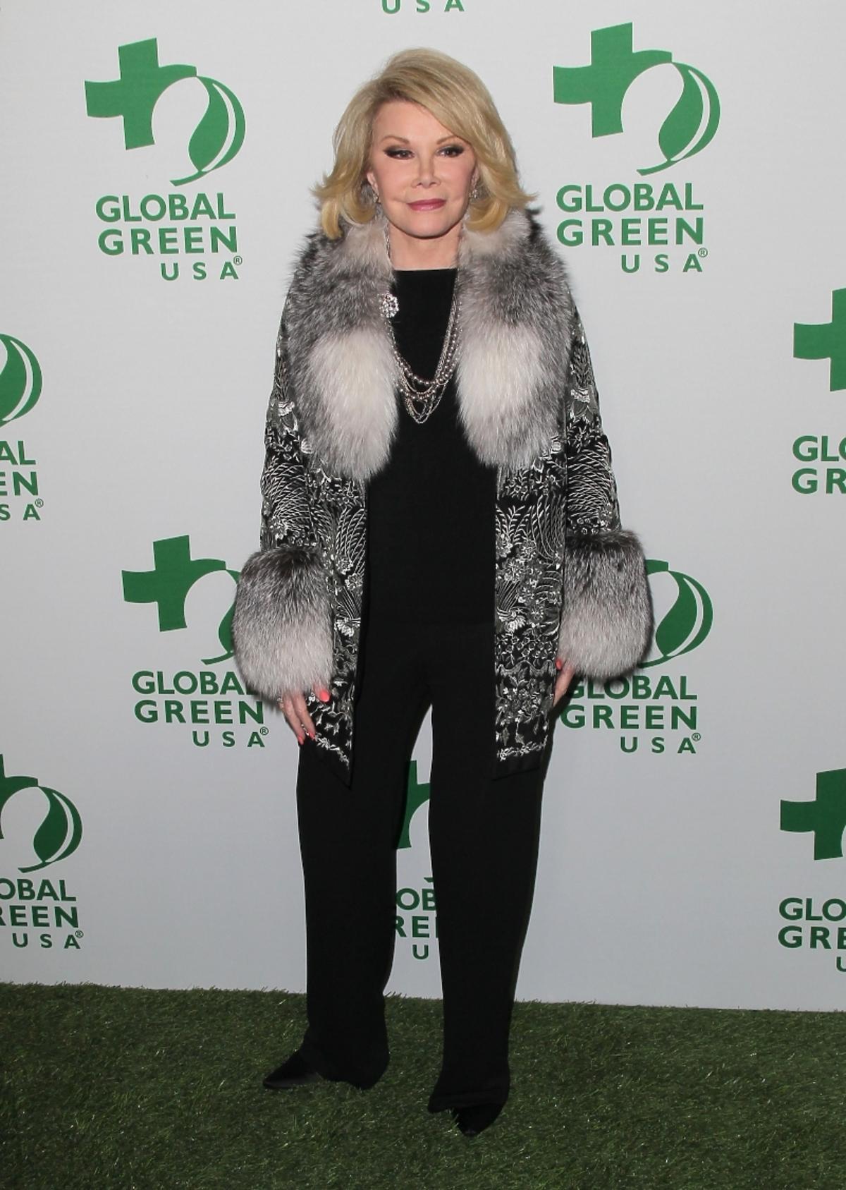 Joan Rivers wylądowała w szpitalu. Joan Rivers nie żyje