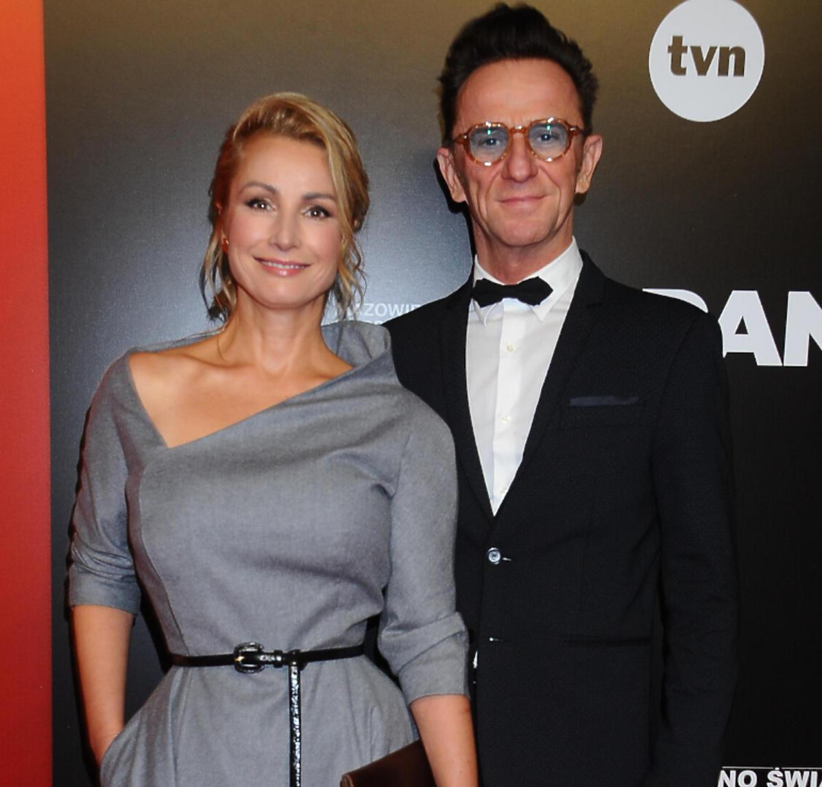 Joanna Brodzik i Paweł Wilczak na premierze filmu