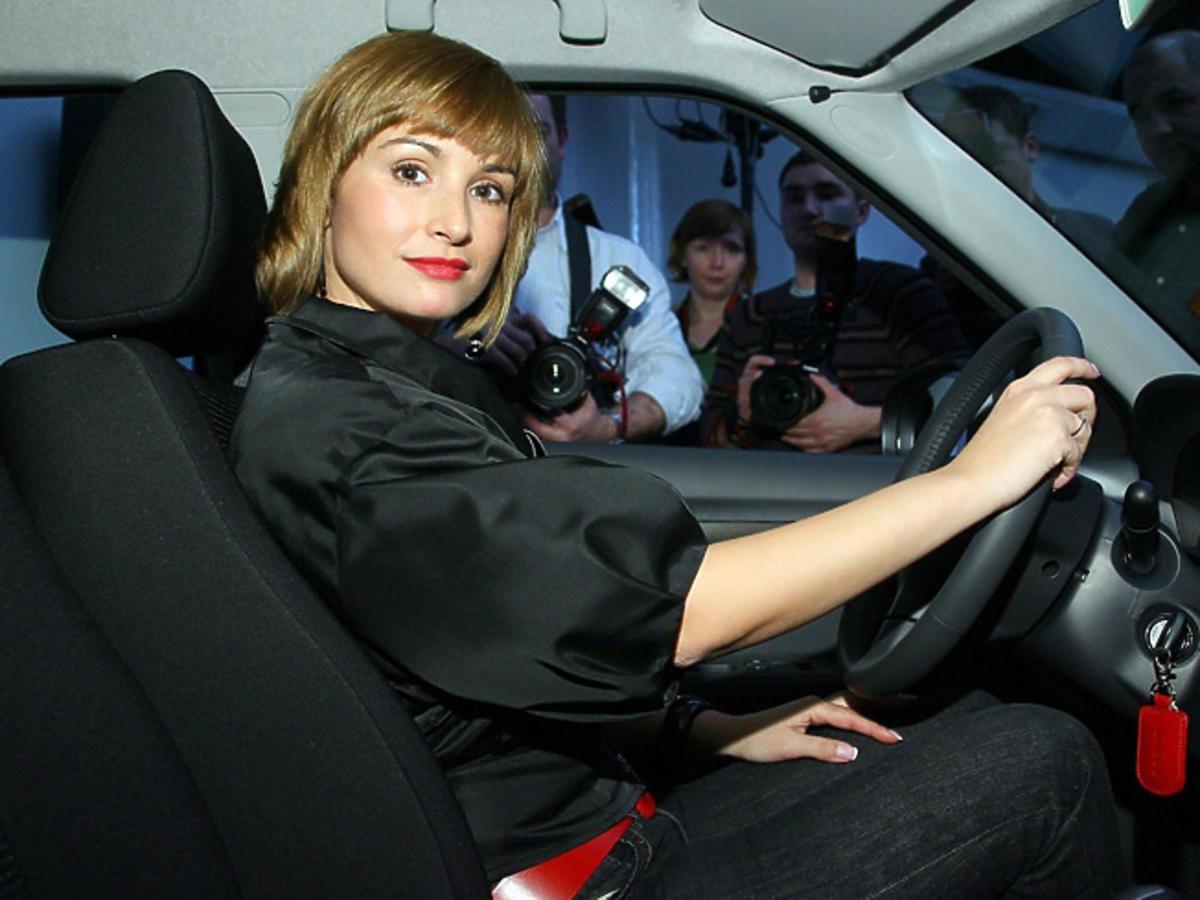 Joanna Brodzik miała wypadek samochodowy