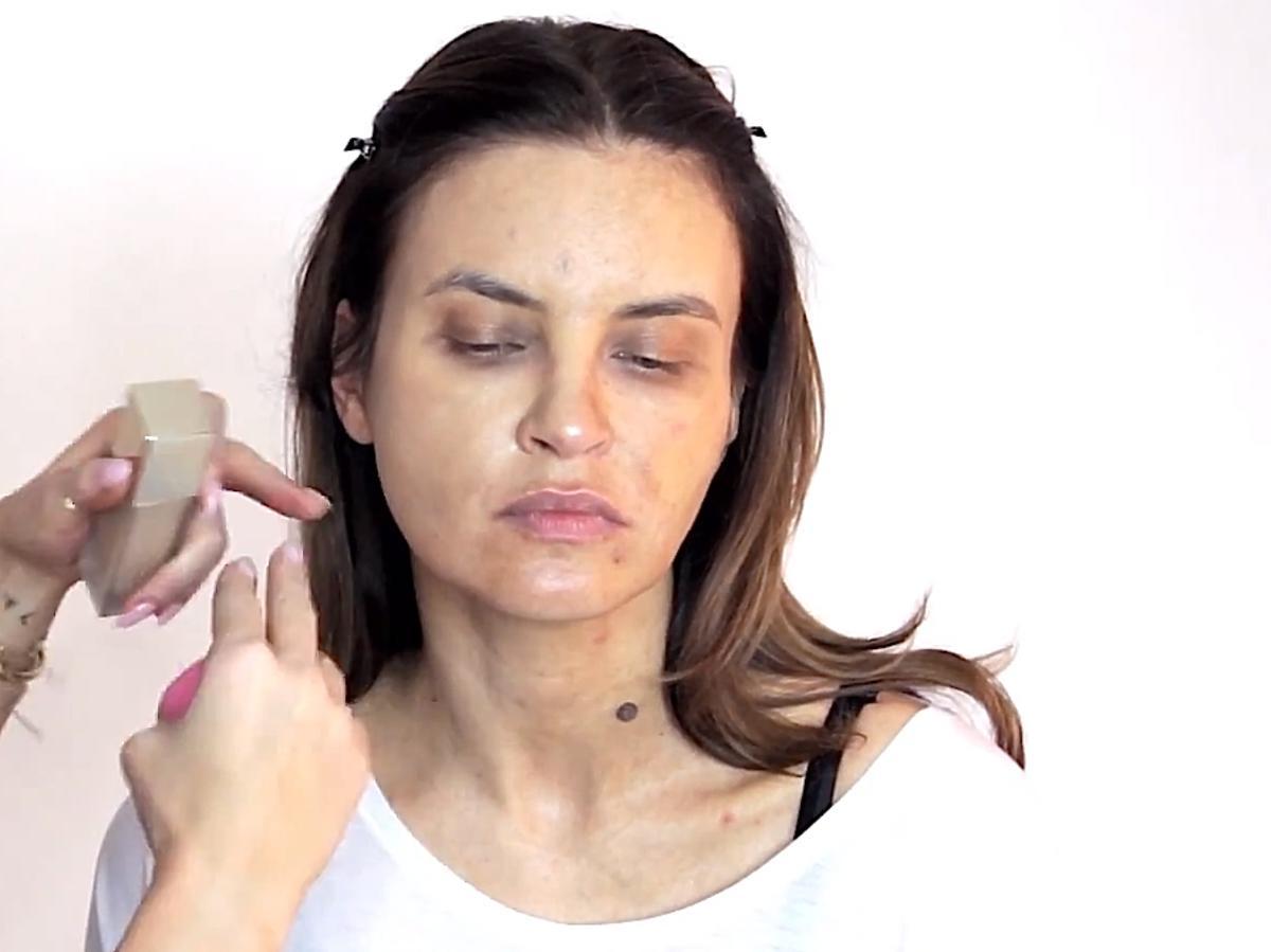 Joanna Horodyńska bez makijażu