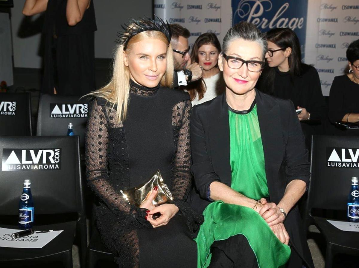 Joanna Horodyńska i Joanna Klimas na Flesz Fashion Night